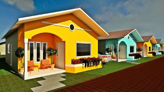 China Professionele de Huizen Kleine Moderne Modulaire Huizen van de Ontwerp Prefabbungalow leverancier