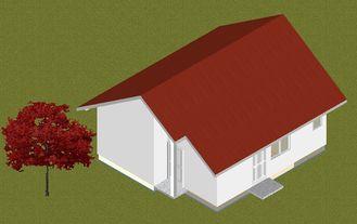 China De lichte van de de HuizenBrandpreventie van de Staal Prefabbungalow Motechte, Kleine Vervaardigde Huizen leverancier