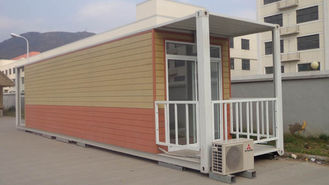 China Prefab Verschepende Containerhuizen, multifunctionele Modulaire Containeraanpassing leverancier