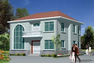 China De het lichte Huis/Geprefabriceerde huizen van het Staalkader voor Villa leverancier
