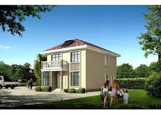 China Geprefabriceerd huis, Huis van het Twee vloeren het Prefabstaal met Lang Leven leverancier
