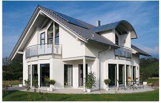 China De lichte Geprefabriceerde Villa/de Energie van het Staalkader - besparings Moderne Modulaire Huizen leverancier