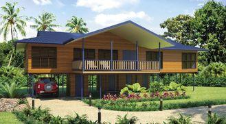 China De Bali Geprefabriceerde Blokhuizen/enz.-Bungalowwen van het Huisstrand voor Vakantie het Leven leverancier