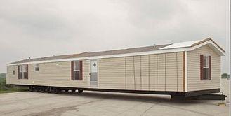 China Vouwbaar Draagbaar Mobiel Huis/Dubbele Brede Sta-caravan met Groen Materiaal leverancier