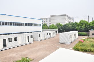 China Lichte Staal Prefab Modulaire Huizen leverancier