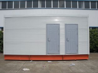 China De Prefab Modulaire Huizen van het staalkader voor Mobiel Toilet/Bureau leverancier