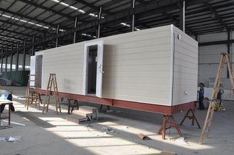 China Prefab Mobiele van het Cabinehuis/Staal Kader Prefab Modulaire Huizen voor Wachthuis leverancier