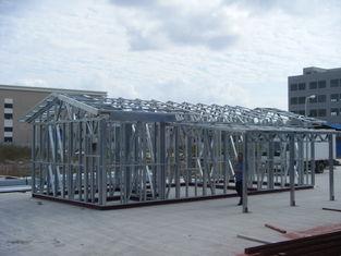 China De windweerstand prefabriceerde Vouwbare Mobiele Huis/van het Staalpakhuis Opslag leverancier