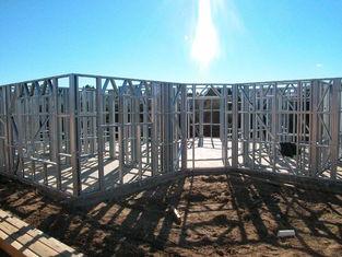 China Lichte Ontwerpende het Huisstructuur van het Maatstaal, Snelle het Kaderhuisvesting van het Installatie Lichte Staal leverancier
