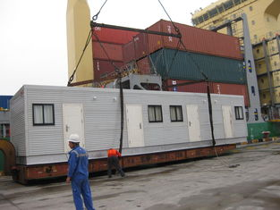 China De architect ontwierp Modulaire Huizen/Licht Staal Breed Modulair Tabernakel leverancier