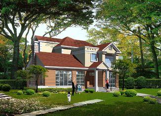 China Geprefabriceerde Lichte de Structuurvilla van het Maatstaal, Staalgeprefabriceerde huizen leverancier