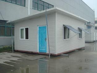 China De prefab Gemakkelijke en Snelle Installatie van het Sta-caravan Beweegbare Waterdichte Plattelandshuisje leverancier