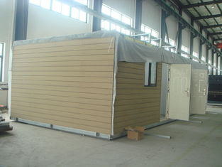 China Assembleer snel Prefab Modulaire Huizenenergie - besparings Prefab Modulaire Huizen leverancier