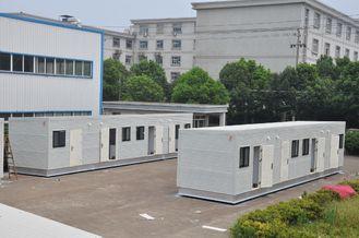 China Mobiele Moderne Modulaire Huizen Geprefabriceerde Huizen Witte Laaghuis leverancier