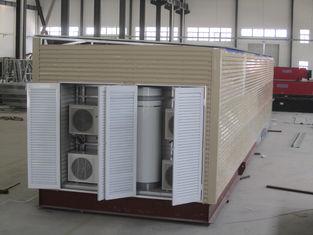 China Moderne Modulaire de Huizen Gemakkelijke en Snelle Installatie van de Huizen Gele Motor leverancier