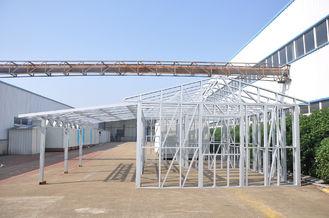 China De vochtbestendige Loodsen die van de Metaalauto Zaal voor Carport/Huis parkeren leverancier