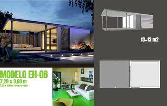China Het moderne Beweegbare Huis van de Accentenvakantie/prefabriceerde Tuinstudio voor Vakantie het Leven leverancier