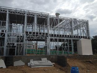 China Moderne Snel installeert Geprefabriceerd huis, Metaal Geprefabriceerde het Huisvesten Modules leverancier