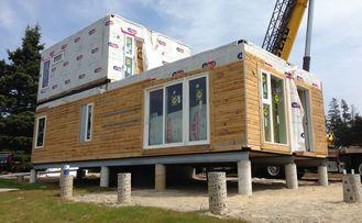 China Modulair Gebouwengeprefabriceerd huis Twee het Staalvilla van de Verdiepings Lichte Maat leverancier