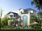 China Geprefabriceerd huis, Geprefabriceerde Landelijke Villa met Licht Staalkader fabriek
