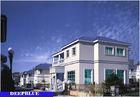 China Europese Stijl Geprefabriceerde Villa/Hoogte - de Bekendheidshuis van het kwaliteits Licht Staal fabriek
