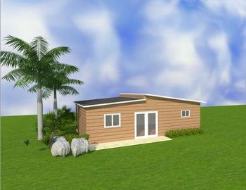 China De Australische Draagbare Goedkope Modulaire Huizen van Omavlakten/Prefabplattelandshuisjes verdeler