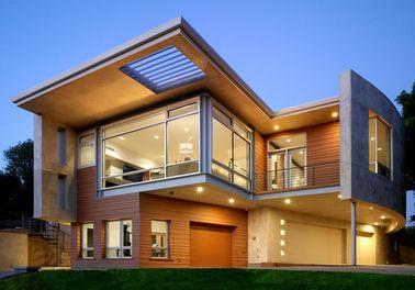 Luxurious Geprefabriceerd Staalhuis/Licht Prefab het Metaalhuis enz. van het Staalkader