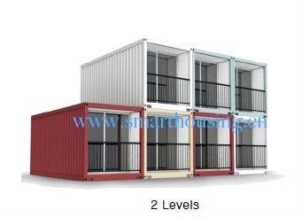 China Modulaire Prefab de Containerhuizen van ISO 40HQ, de Verschepende Containershuizen van het Waterbewijs verdeler