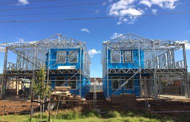 De lichte Prefabvilla van het Staalkader/assembleert snel de Prefabhuizen/Lignt-Villa van het Staalkader