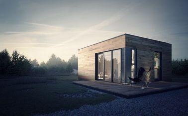 China Studio van de geprefabriceerd huis de Prefabtuin met de Lichte Opslag van het Staalkader verdeler